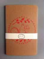 MOLESKINE notebook, squirrel (nb04) £5